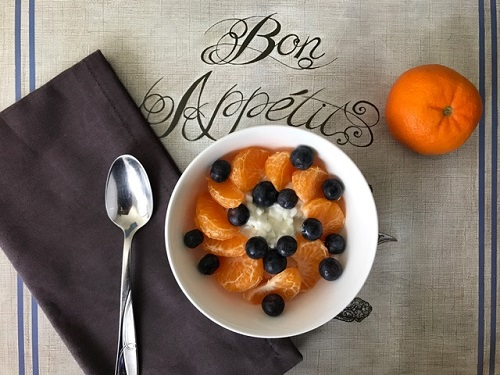 orange blueberries
